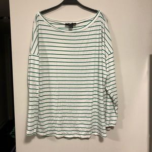 Tops - Plus size long sleeve shirt
